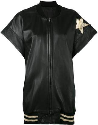 Faith Connexion star patch bomber gilet
