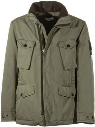 Stone Island Zipped Military Jacket