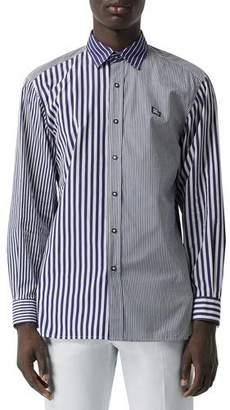 Burberry Men's Jameson Cut Up Sport Shirt