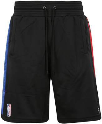 Marcelo Burlon County of Milan Nba Logo Track Shorts