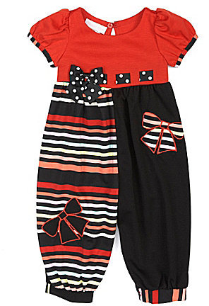 Bonnie Baby 3-24 Months Striped Party Pants