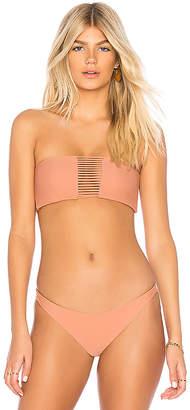 Mikoh Sunset Bikini Top