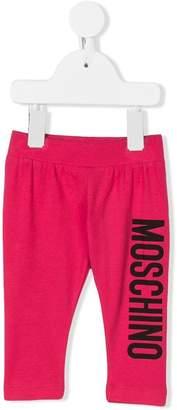 Moschino Kids logo printed sweatpants