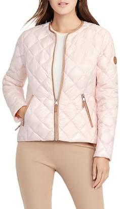 Ralph Lauren Short Diamond-Quilted Down Jacket