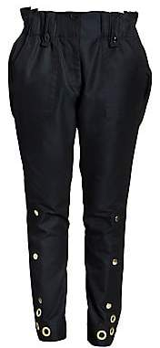 Sacai Women's Gabardine Poplin Pants