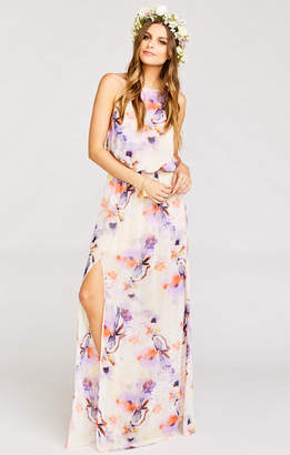 Show Me Your Mumu Heather Halter Dress ~ Abers Babers