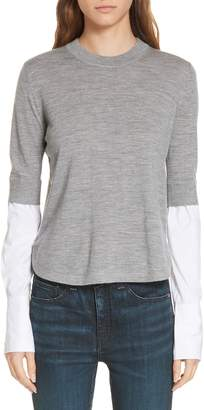 Veronica Beard Roscoe Layered Sweater