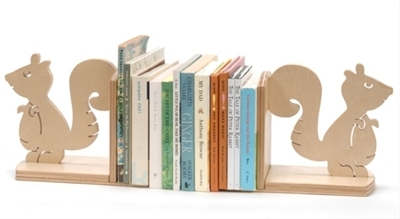 Squirrel Book Ends