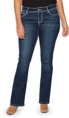 A.N.A Fleur De Lis Flap Bootcut Modern Fit Bootcut Jeans