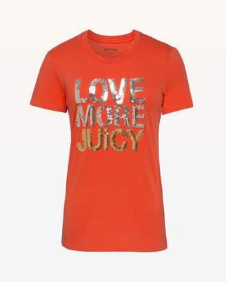 Juicy Couture Love More Juicy Short Sleeve Tee