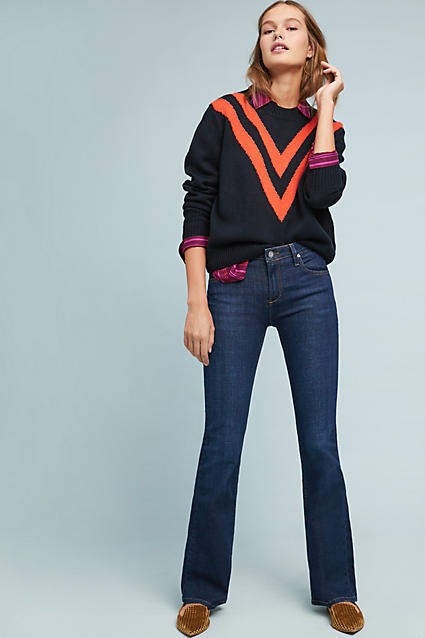 Reiko Phoebe Mid-Rise Bootcut Jeans
