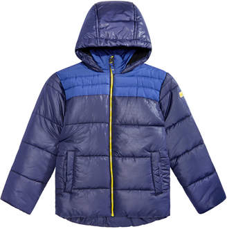 Roland Mouret Big Boys Samuel Hooded Colorblocked Jacket
