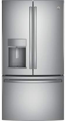 GE 27.8 cu. ft. Energy Star French Door Refrigerator With Hands-free Autofill