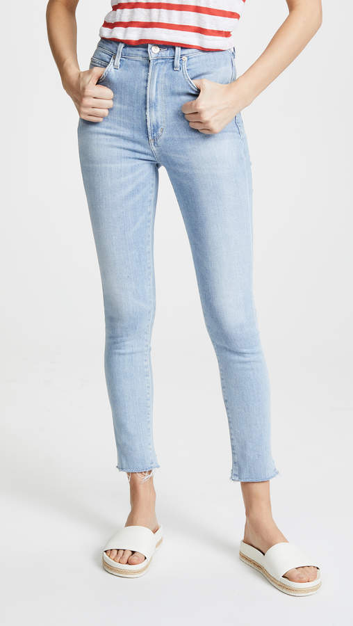 Buy Chrissy Ankle High Rise Jeans!