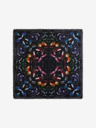 Alexander McQueen Butterfly Paradise Shawl