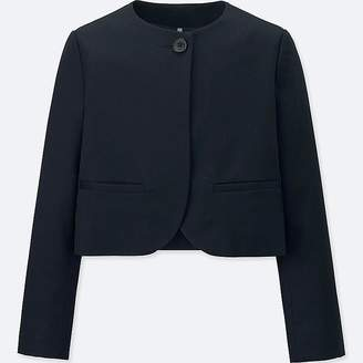 Uniqlo Girl's Collarless Jacket