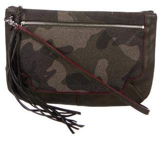 MZ Wallace Leather-Trimmed Crossbody