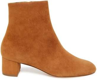 Mansur Gavriel Shearling 40mm Ankle Boot - Cammello