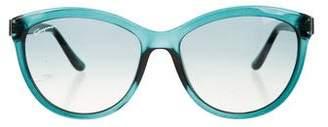 Salvatore Ferragamo Cat-Eye Gradient Sunglasses w/ Tags
