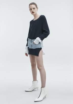 Alexander Wang HYBRID VARSITY DRESS