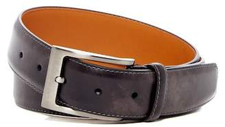 Magnanni Square Buckle Leather Belt