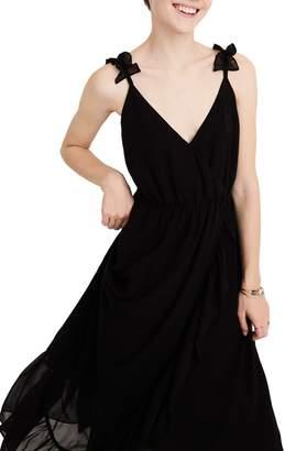 f6dca5a229 Madewell Ruffle Strap Faux Wrap Maxi Dress
