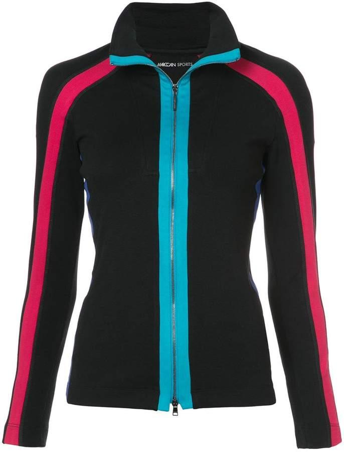 Taillierte Jacke mit Streifen