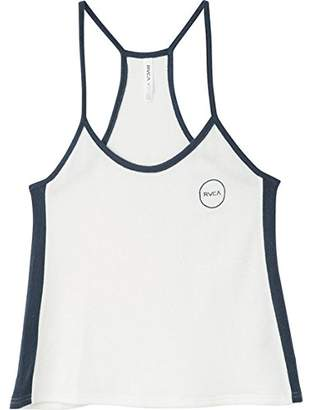 RVCA Junior's Throwback Racer Back Tank