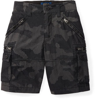 Ralph Lauren Boys 2-7 Cotton-Blend Cargo Short $55 thestylecure.com