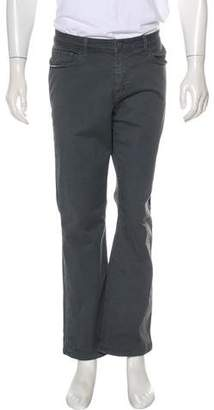 Paige Denim Flat Front Twill Pants