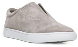 Vince Viktor Suede Slip-On Sneakers $250 thestylecure.com
