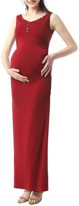 Kimi and Kai Ruby Maternity Maxi Tank Dress