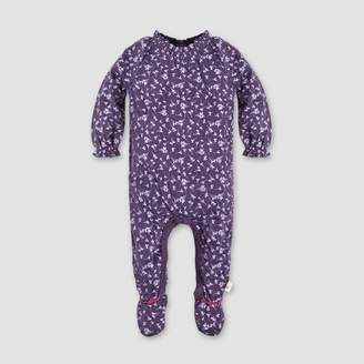 Burt's Bees Baby® Baby Girls' Dandelions Floral Footed Coverall - Purple