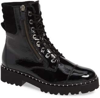 Gabor Patent Combat Boot