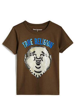 True Religion Toddler/Little Kids Buddha Stripe Tee