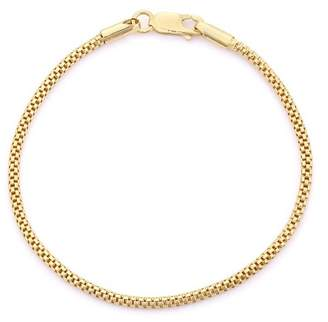 Tiara Sterling Silver Popcorn Bracelet