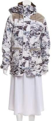 Burton Printed Parka Jacket