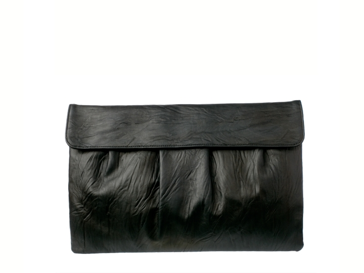 Lulu Townsend Oversized Pleated Clutch