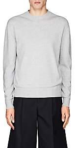 Jil Sander Men's Mélange Cashmere Crewneck Sweater - Light Gray