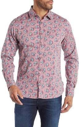 NOIZE Long Sleeve Printed Shirt