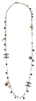 Chanel Pearl & Bead Mademoiselle Necklace