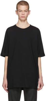 Helmut Lang Black Oversized Uni Sleeve T-Shirt