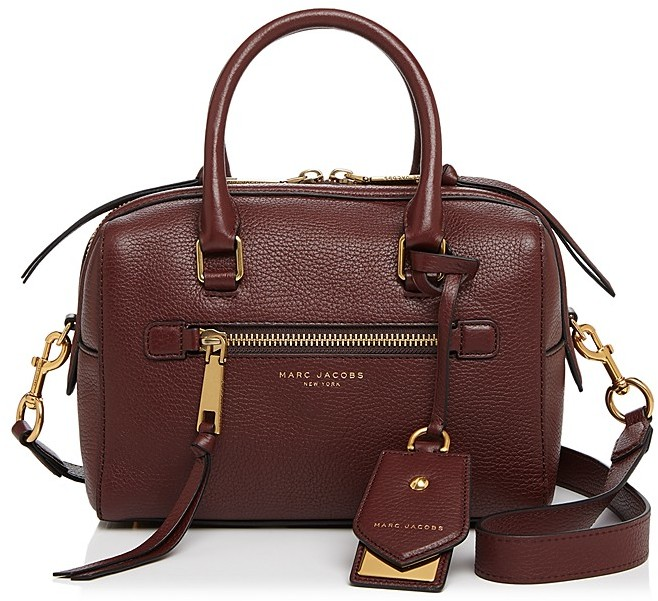 Marc Jacobs MARC JACOBS Bauletto Small Leather Satchel