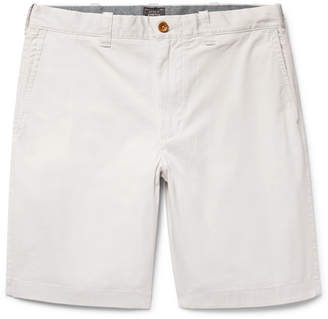 J.Crew Stanton Slim-Fit Stretch-Cotton Twill Shorts