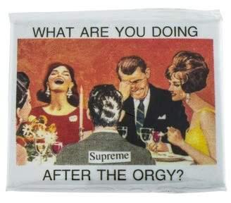Supreme 2017 Orgy Magnet