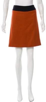 Dries Van Noten Wool-Blend Mini Skirt