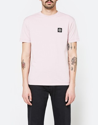 Patch Logo T-Shirt in Rose Quartz $98 thestylecure.com