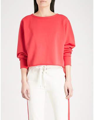Rag & Bone Cropped cotton-jersey sweatshirt