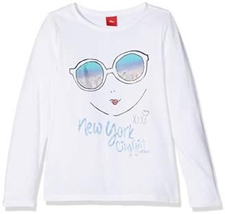 S'Oliver Girl's Langarm Longsleeve T-Shirt