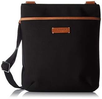 Le Tanneur Women's TSUZ1110Messenger Bag Black